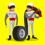 Idle Pit Stop: Tycoon Racing Manager MOD