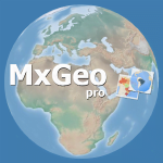 World atlas & map MxGeo Pro MOD